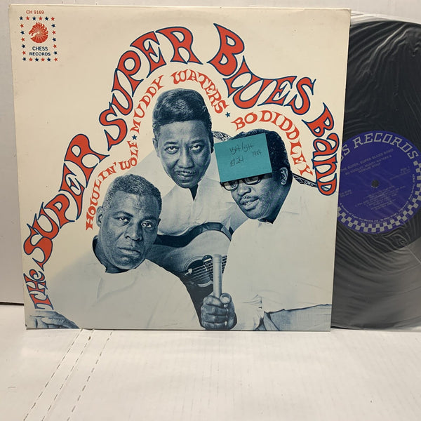 Super Blues Band Howlin Wolf Muddy Waters Bo Diddley Chess 9269 VG++