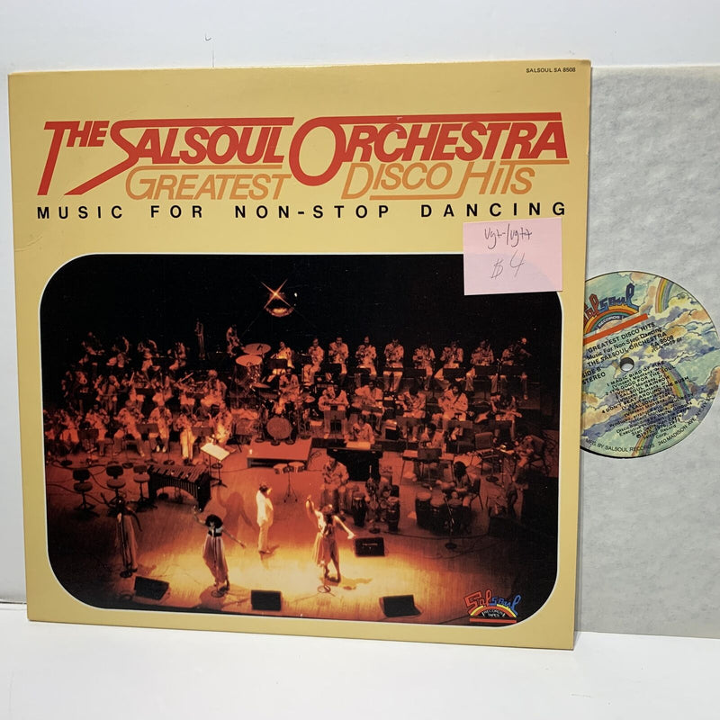Salsoul Orchestra Greatest Disco Hits- Salsoul 8508 Disco Soul LP VG+-/VG++