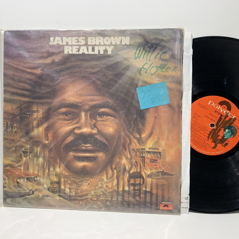 James Brown Reality Polydor 6039 VG/VG WOL WOC Soul Funk LP