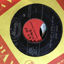 Jivin Gene- I Cried- Mercury 71863- VG Swamp Pop 45