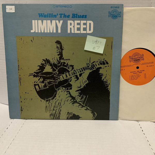Jimmy Reed Wailin The Blues- Tradition TR 2069 VG+/VG++ Blues Record LP