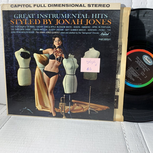 Jonah Jones Styled By Instrumental Hits- Capitol ST 1557 VG+/VG++ Jazz Record