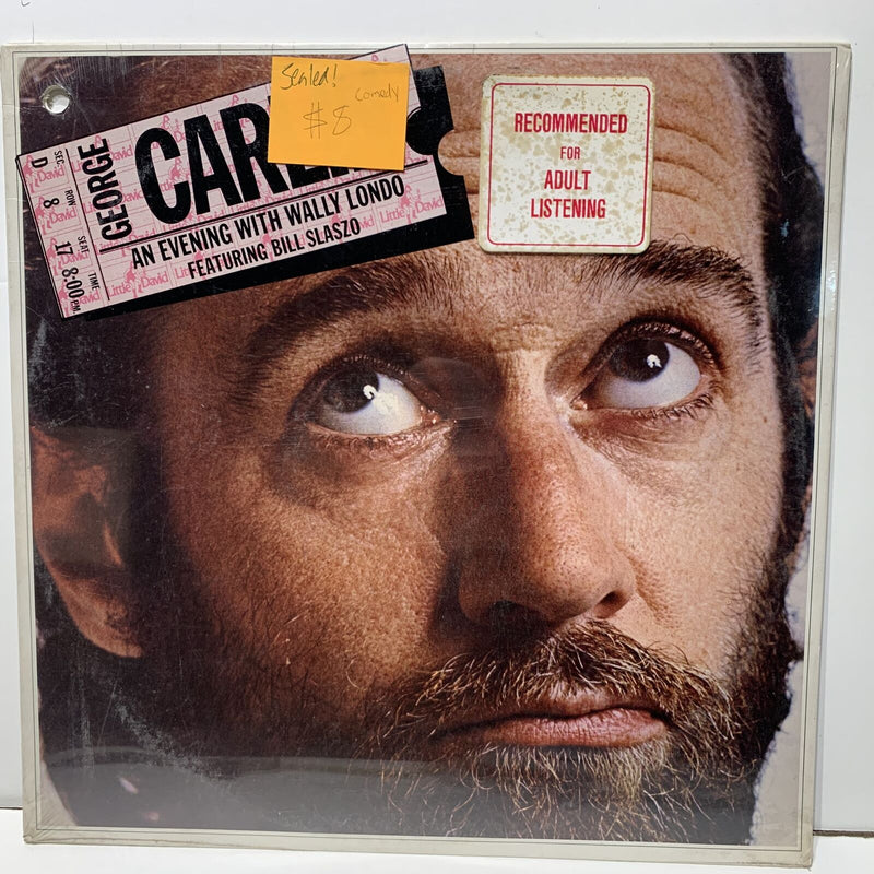 George Carlin An Evening With Wally Lando Little David 1008 Sealed Comedy
