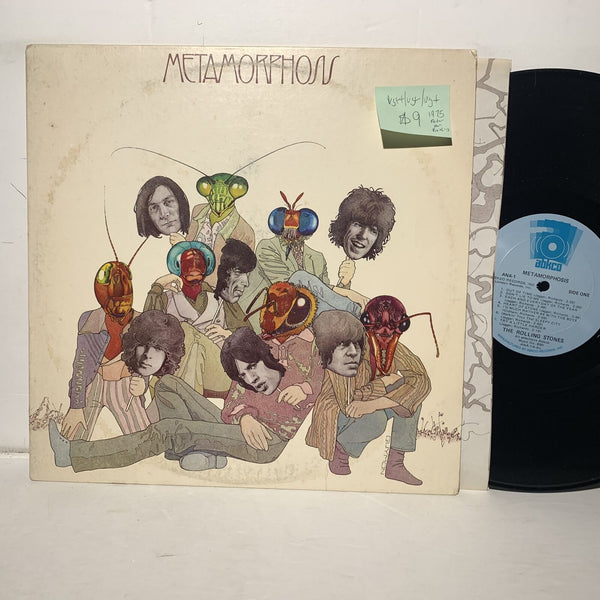 Rolling Stones Metamorphosis Abkco 1 VG++/VG+ /VG+ 1975 Peter Pan Press