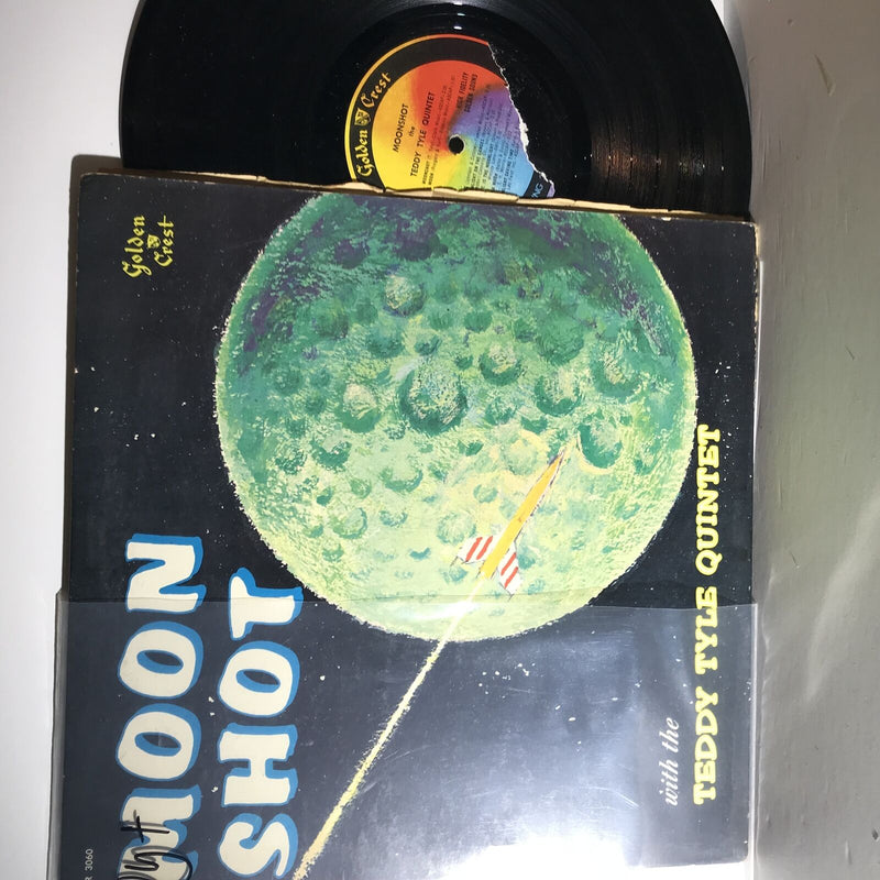 Teddy Tyle Quintet- Moon Shot- Golden Crest CR 3060- VG++/VG+