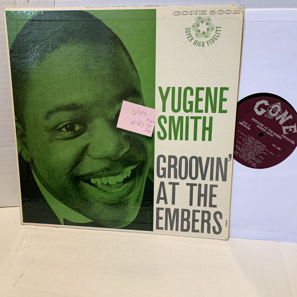 Eugene Smith Groovin At The Embers Misprint Gone 5002 Jazz Record LP VG/VG(+)