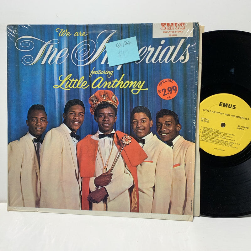 The Imperials Little Anthony We Are- Emus 12031 EX/EX Soul LP