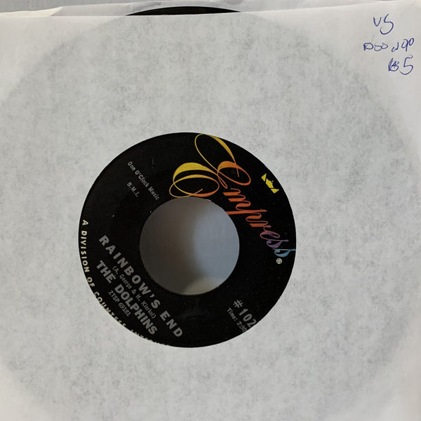 "The Dolphins Rainbow's End- Empress #102 VG Doo Wop 45 Record 7"" single"