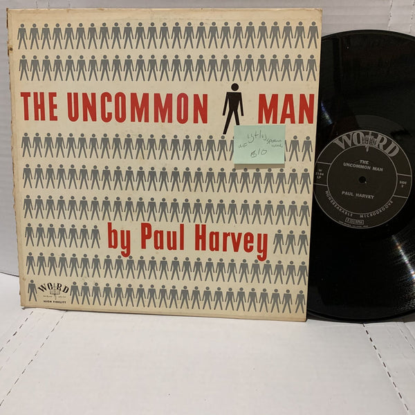 Paul Harvey The Uncommon Man- Word 3184 Sermon VG+/VG NF Gospel