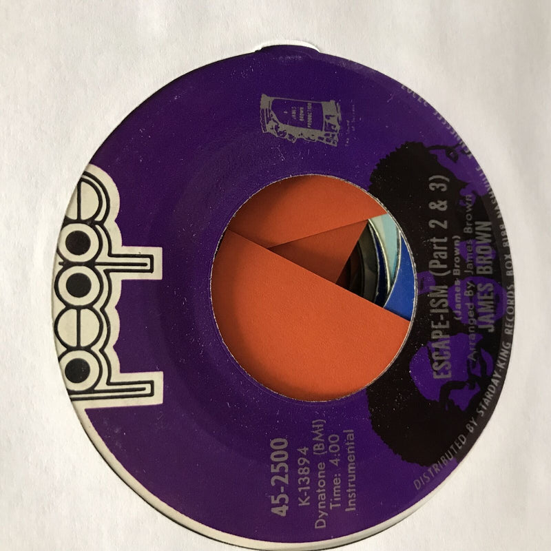 James Brown- Escape-ism- People 45-2500 Funk 45- VG/VG+