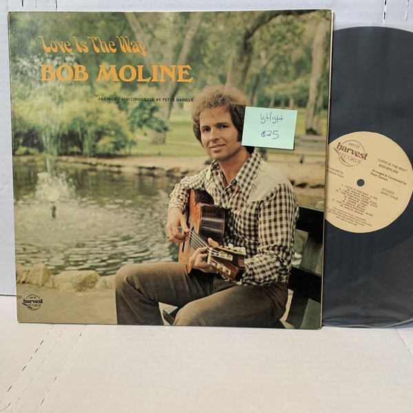 Bob Moline Love Is The Way- World Harvest 724 VG+/VG++ Folk Country Record