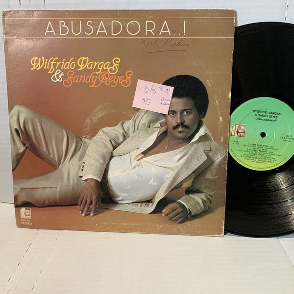 Wilfrido Vargas Sandy Reyes Abusadora Karen K 60 VG/VG Dominican Press Record