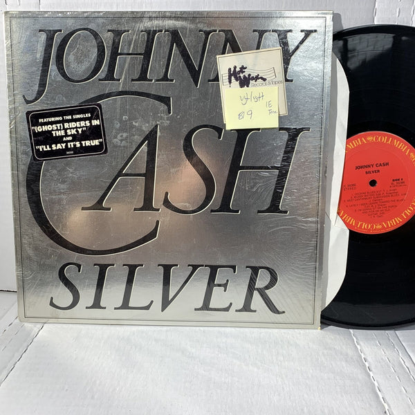 Johnny Cash Silver- Columbia JC 36086 1E Terre VG+/VG++ Country Record LP