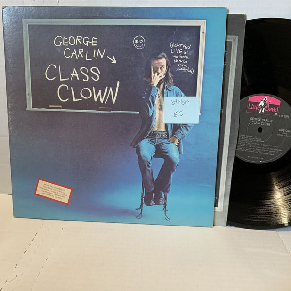 George Carlin Class Clown- Little David LD 1004 SP VG++/VG++ Comedy Record