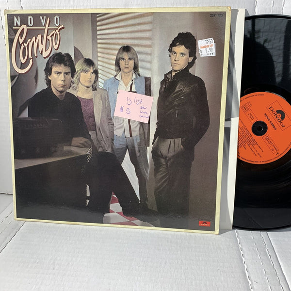 Novo Combo Self Titled- Polydor German Press New Wave Vinyl Record LP VG