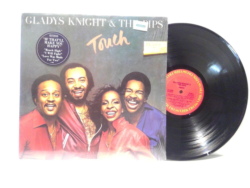 Gladys Knight & The Pips- Touch- COlumbia FC 37086- EX/VG++ Disco Soul