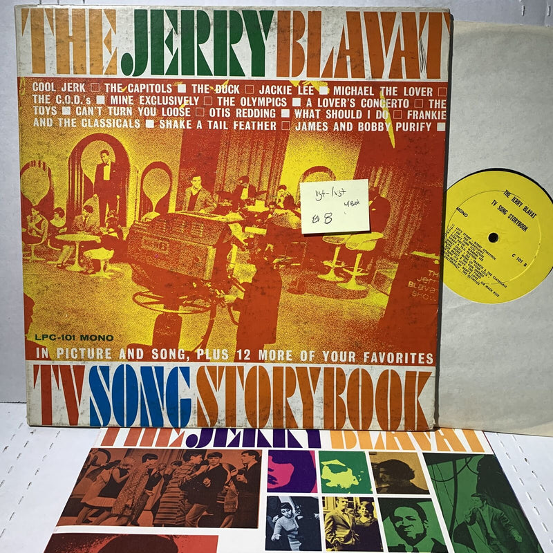The Jerry Blavat TV Song Storybrook- C 1010 Mono VG+-/VG+ Rock LP