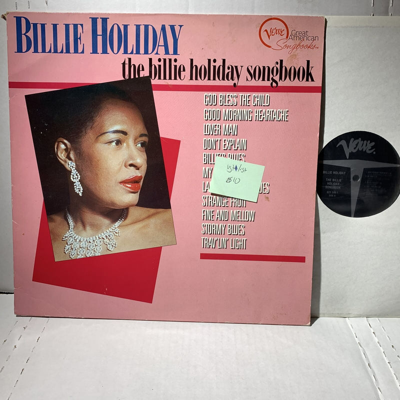 Billie Holiday Songbook- Verve 8232461 Jazz Blues Vocal Comp Record LP VG+