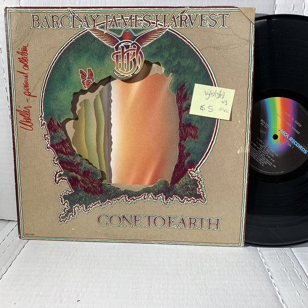 Barclay James Harvest Gone To Earth MCA 2302 VG(+) Symphonic Rock Record