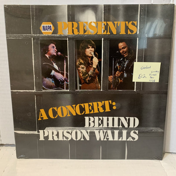 Napa Presents Concert Behind Prison Walls Pointed Star 10178 Sealed Country