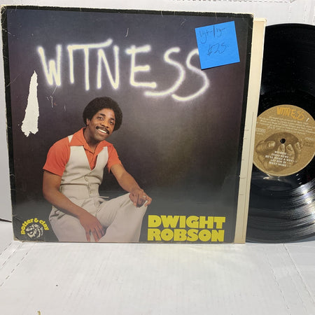 Dwight Robson Witness Potter & Clay VG+-/VG- Gospel Soul German Press