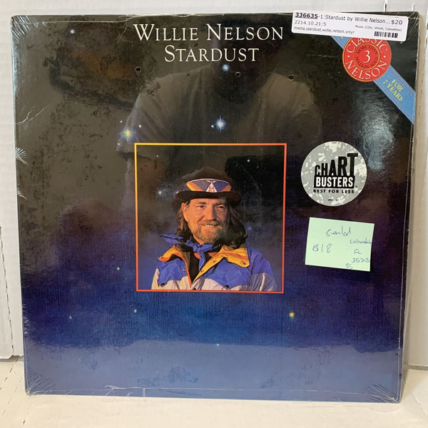 Willie Nelson Stardust- Columbia FC 36305 SEALED Country Vinyl Record LP '85