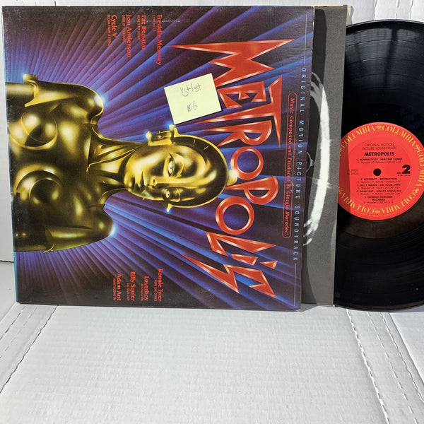 Metropolis Original Movie Soundtrack- Columbia JS 39526 VG+/VG+ Record LP