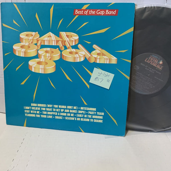 Gap Band Best Of Gap Gold- Total Experince Disco Funk Record LP VG+-/VG++