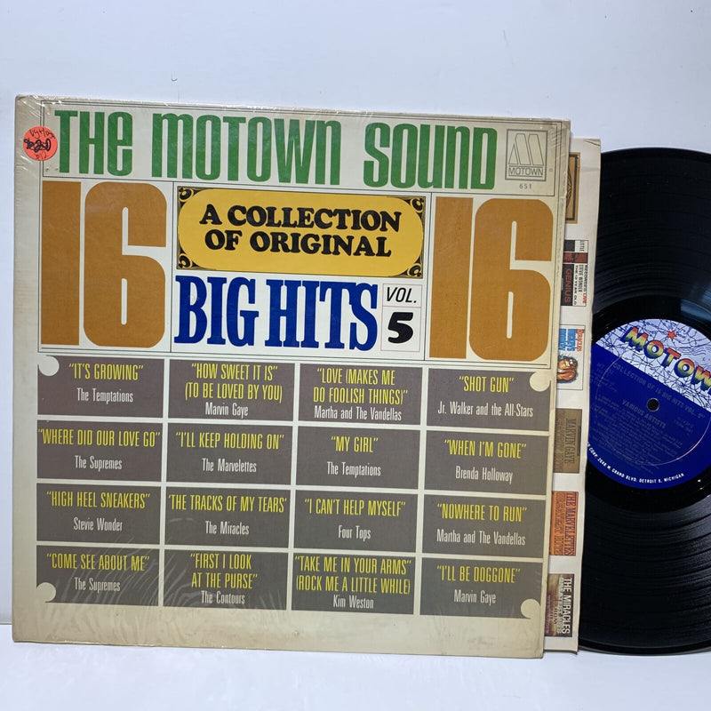 The Motown Sound Collection Of Original Big Hits Vol 5- VG+/VG+ Comp Soul