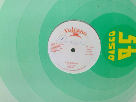 Toyan Radication / Eek A Mouse Smuggling- Volcano Vol 16-82 SUPER RARE Dancehall