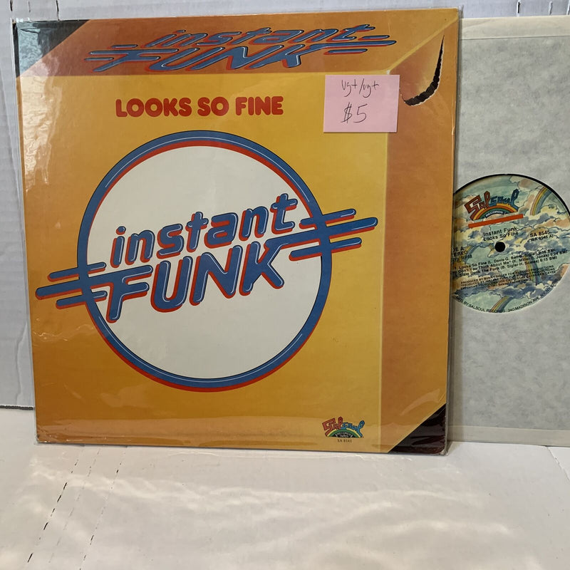 Instant Funk Looks So Fine- Salsoul SA 8545 VG+/VG+ Funk Disco Vinyl Record LP