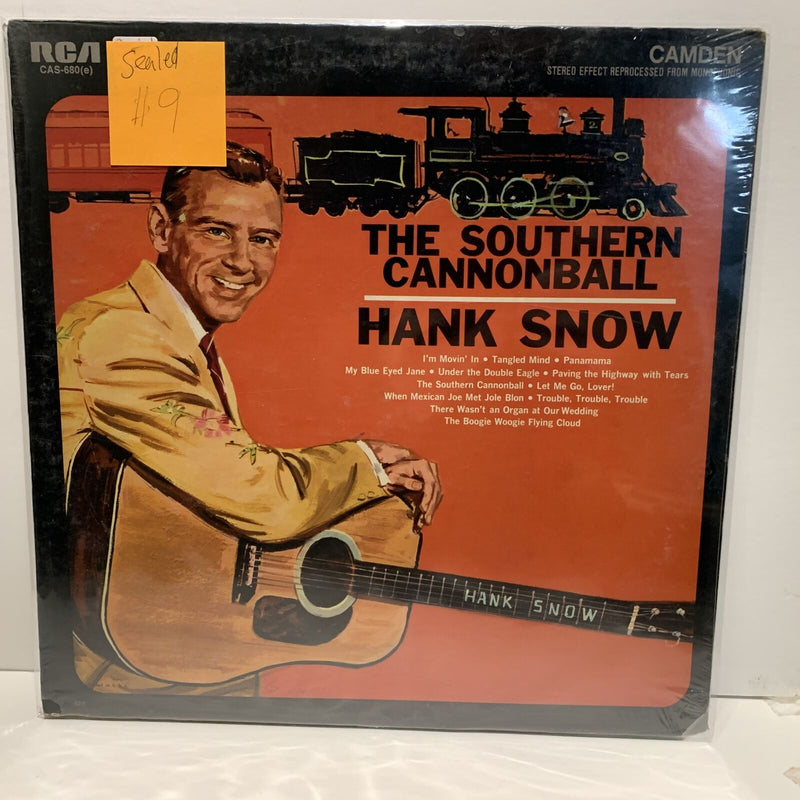 Hank Snow- The Southern Cannonball- RCA Country LP- SEALED!