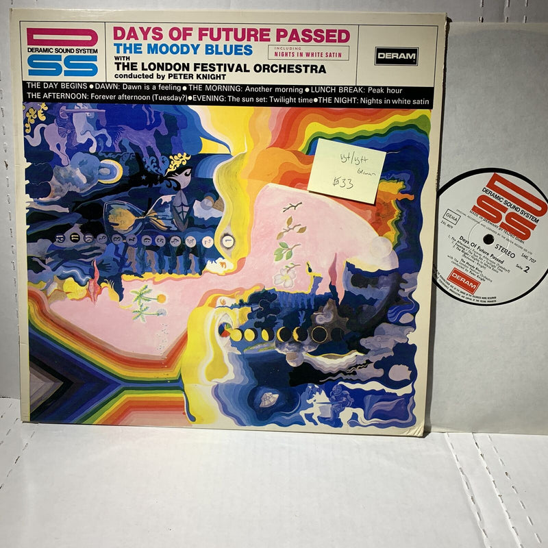 Moody Blues Days Of Future Passed- Deram SML 707 VG+/VG++ German Press