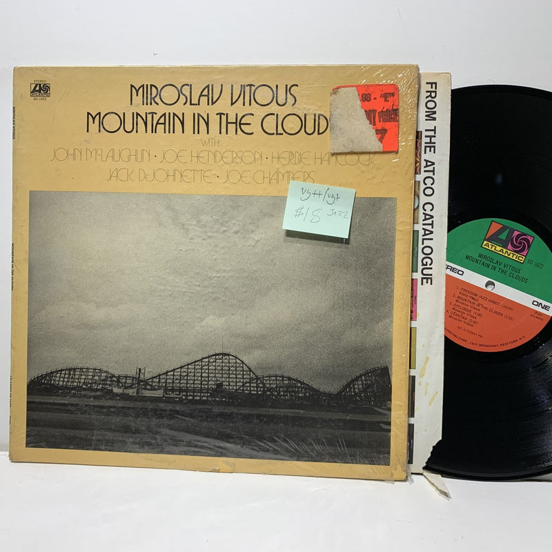 Miroslav Vitous Mountain In The Clouds Atlantic 1622 VG++/VG+ Jazz