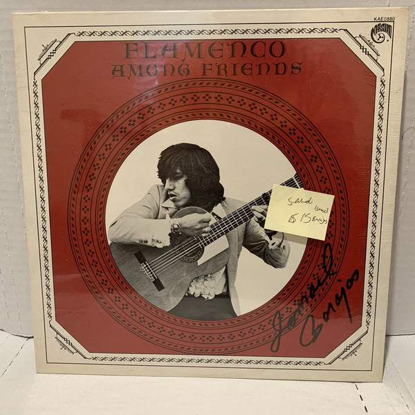 Ismael Barajas Flamenco Among Friends- Marsound KAE 0880 SEALED Latin LP