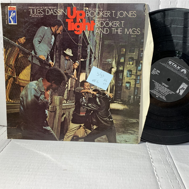 Booker T MGs Up Tigh Original Movie Soundtrack Record LP VG/VG+ Netherlands