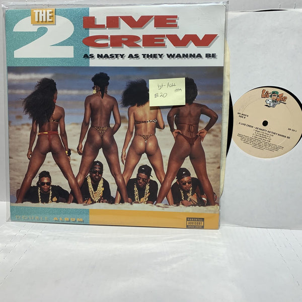 2 Live Crew Nasty As They Wanna Be Lil Joe 107 1999 2LP VG+-/VG++