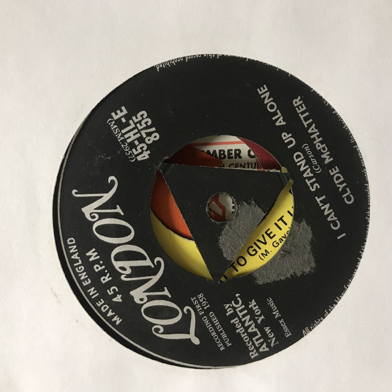Clyde McPhatter- A Lovers Question/ I Cant Stand Up Alone- London 45 8755 UK
