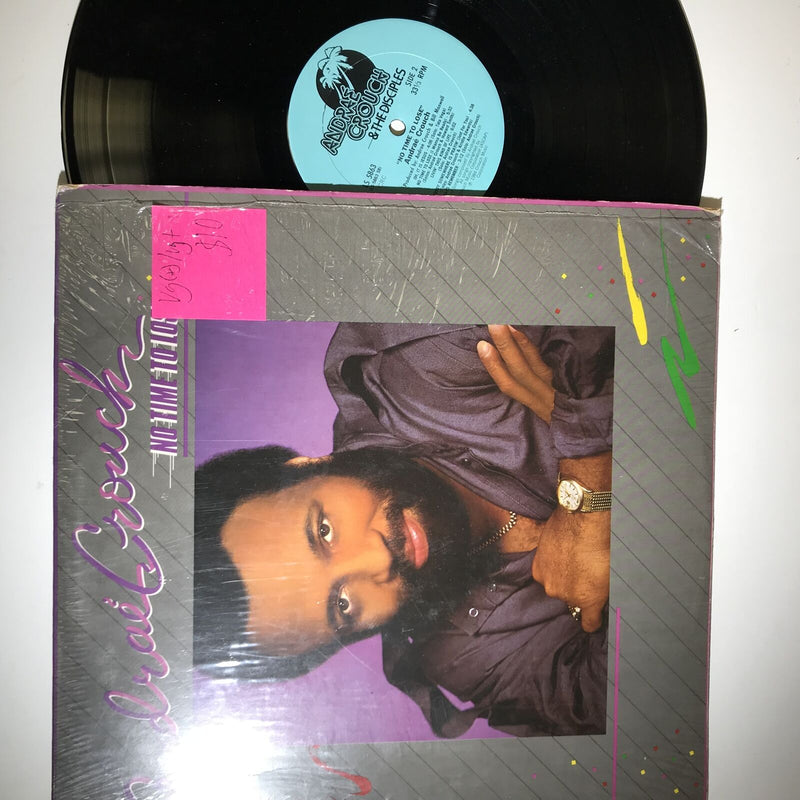 Andrae Crouch- No Time To Lose- VG(+)/VG+ LS 5863