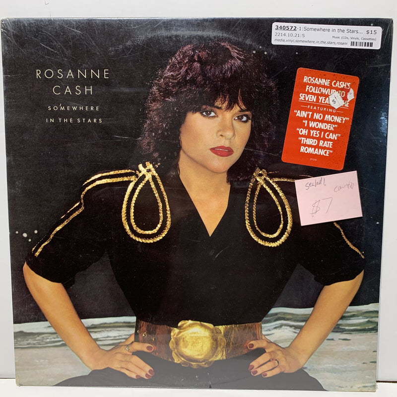Roseanne Cash Somewhere In The Stars- Columbia 37570 Country LP