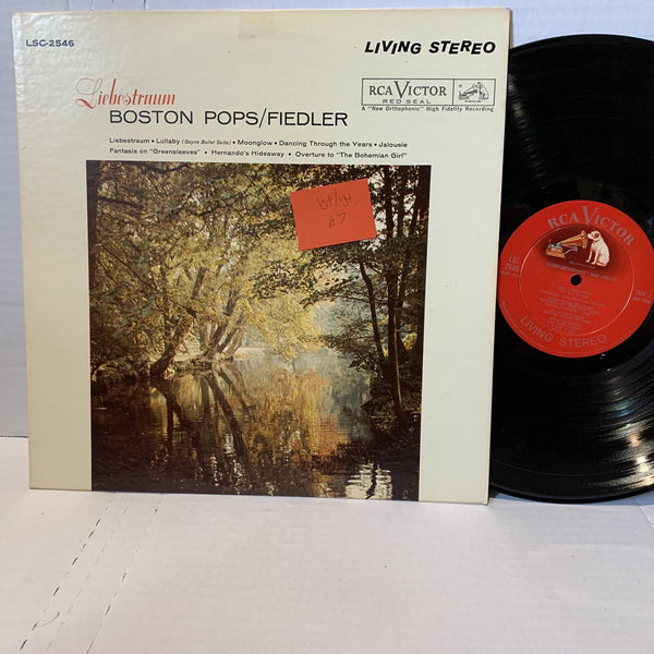 Boston Pops Fielder Liebstraum RCA LSC 2546 VG+ Living Stereo Classical Record