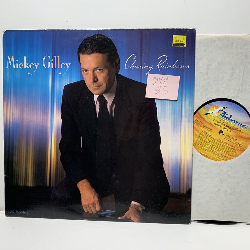 Mickey Gilley Chasing Rainbows- Airborne 0103 Country LP VG++/VG+