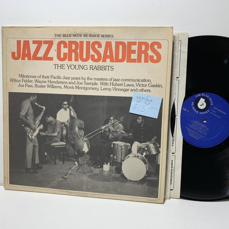 Jazz Crusaders Young Rabbits- Blue Notte LA530 VG+-/VG+ Jazz 2LP