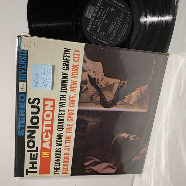 Thelonious Monk Quartet In Action- Riverside 1st Stereo Press RLP 1190- VG+/VG+