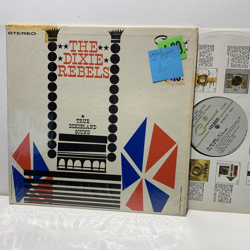 The Dixie Rebels Vol 2- Command Jazz LP- VG++/VG++
