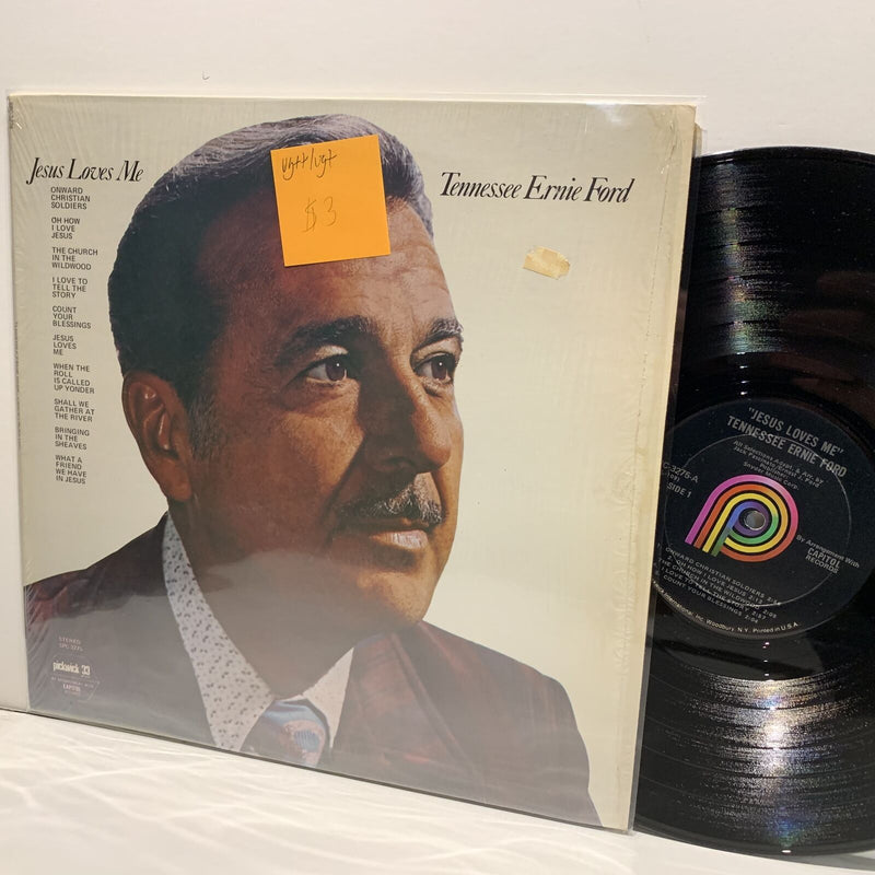 Tennessee Ernie Ford- Jesus Loves Me- Pickwick Gospel Country LP- VG++/VG+