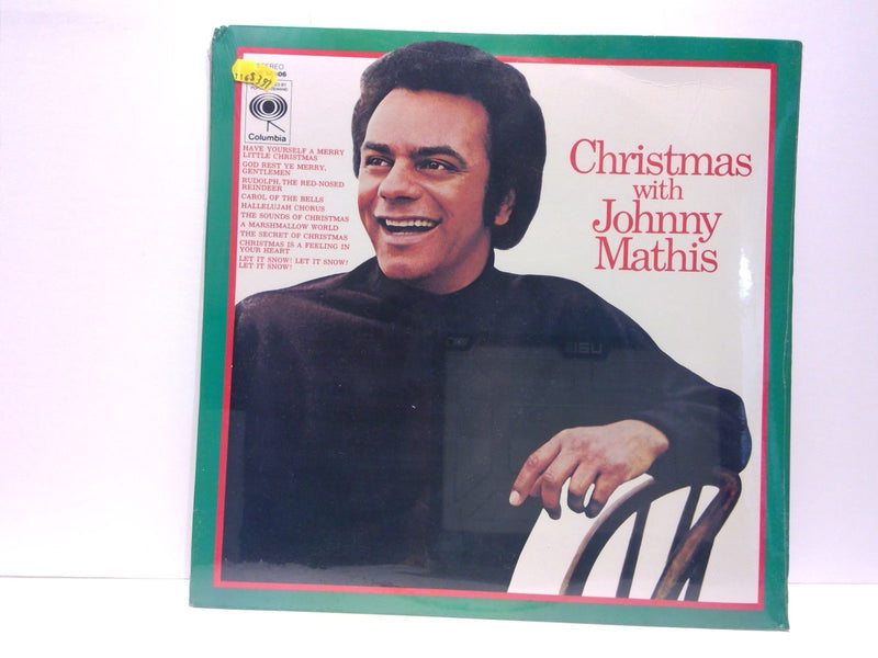 Christmas With Johnny Mathis- Columbia 38306- SEALED!