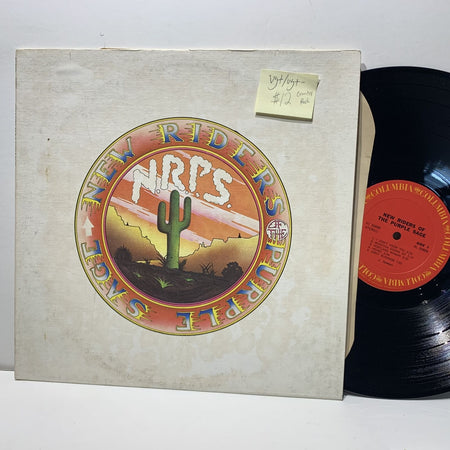 New Riders Of The Purple Sage S/T- Columbia 30888 Country Rock LP- VG+/VG+-