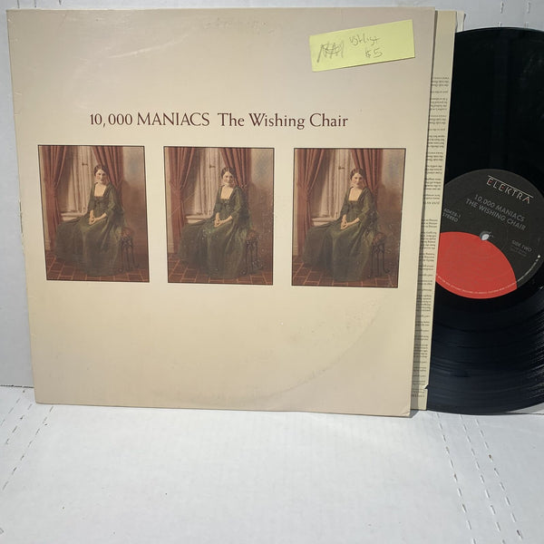 10,000 Maniacs The Wishing Chair- Elektra 60428 VG+/VG+ Rock Record LP