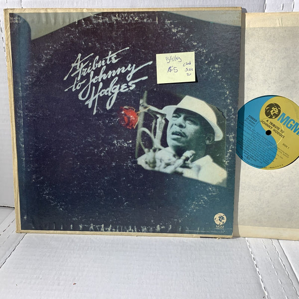 Johnny Hodges A Tribute To- MGM ST 93354 VG(+)/VG Jazz Club Edition Record